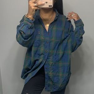 Abercrombie Boyfriend Oversized Baggy Dad Flannel